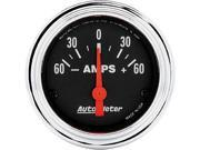 Auto Meter 2586 Ammeter 60-0-60 Amps