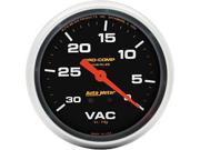 Auto Meter Pro-Comp Liquid-Filled Mechanical Vacuum Gauge