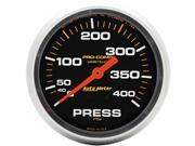 Auto Meter 5424 Pro-Comp Liquid-Filled Mechanical Pressure Gauge