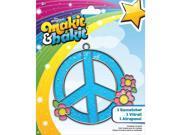 Makit & Bakit Suncatcher Kit-Peace Sign
