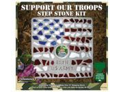 Mosaic Stepping Stone Kit-Support Our Troops