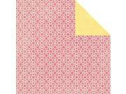 """Tropical Punch Double-Sided Cardstock 12""""X12""""-Refreshing"""