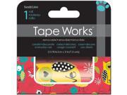 "Tape Works Accent Tape 3""X15ft-Hope Owl"