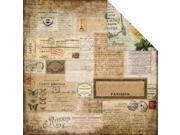 """Glamour & Grunge Double-Sided Cardstock 12""""X12""""-Charmed Moments"""