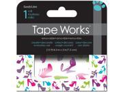 """Tape Works Accent Tape 3""""X15ft-Shoes"""