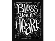 """Chalkboard Canvas Print 12""""X15.75""""-Bless Your Heart"""