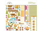 "Doodlebug Essentials Page Kit 12""X12""-Happy Camper"