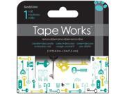 "Tape Works Accent Tape 3""X15ft-Keys"