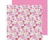 "Lovebugs Double-Sided Cardstock 12""X12""-Sweetheart Bouquet"