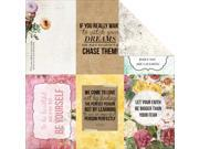 """Be-You-Tiful Double-Sided Cardstock 12""""X12""""-Delightful"""