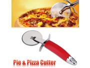 OUTU  Stainless Steel Pie & Pizza Cutter/Wheel