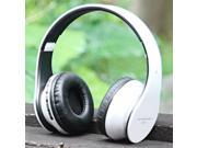 AIAT AT-BT809 Foldable Bluetooth Hands Free Headset MP3 Music Headphone with Microphone Line-in Socket TF Card Slot