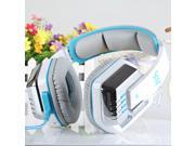 EACH G8000 Gaming Headset Stereo Sound 2.2M Wired Headphone Noise Reduction with Hidden Microphone for Computers iPhone iPod Smartphone Tablet PC