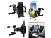 360 cell phone Car Air Vent Mount Cradle Holder mount Stand Automotive air conditioning holder