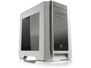 RAIJINTEK AENEAS WINDOW-WHITE, Removable M/B Frame Tool-Free for ODD & HDD, Dust-Control Filter, 14025*2 & 12025*2 fans preinstalled, 0.8mm SGCC, VGA card up to 310mm and CPU Cooler heigth up to 180mm