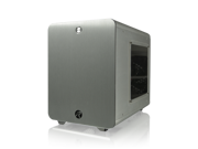 RAIJINTEK METIS Aluminum Mini-ITX Case USB 3.0 2 Ports Compatible with Standard ATX Power Supply & 170mm VGA Card, 120 mm Performing Fan, 160mm CPU Cooler - Silver