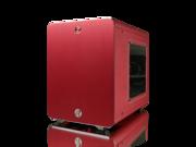RAIJINTEK METIS Aluminum Mini-ITX Case USB 3.0 2 Ports Compatible with Standard ATX Power Supply & 170mm VGA Card, 120 mm Performing Fan, 160mm CPU Cooler - Red