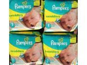 Pampers Swaddlers Size 1 - 240 count (12 Packs of 20)