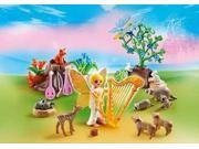Music Fairy With Woodland Creatures