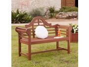 Easton Lutyens 4' Hardwood Bench - Oiled