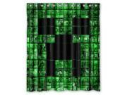 "Hot Game Minecraft 01 Pattern Polyester Fabric Shower Curtain, 60"" By 72"""