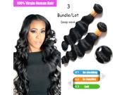 Indian Deep Wave Bundles Curly Weave Human Hair Extensions Hair Products 3PCS/Lot