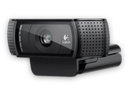 Logitech C920 HD Webcam With Video Capture Up To 1280x720, Built-in Microphone, 15MP