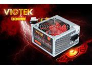 New V2 Viotek 550W 20/24 Pin High Quality Power Supply with 1x 6+2 pin PCI Express, 6x Serial ATA and 2x Molex Connectors, 120mm Smart Cooling Fan
