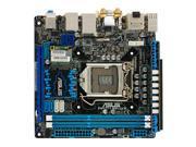 ASUS P8Z77-I Deluxe LGA 1155 Intel Z77 HDMI SATA 6Gb/s USB 3.0 Mini ITX Intel Motherboard