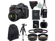 Nikon D7100 24.1 MP DSLR with 18-140mm f/3.5-5.6G ED VR AF-S DX NIKKOR Lens + Pixi-Advanced Accessory Bundle