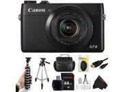 Canon PowerShot G7 X Digital Camera + Pixi-Advanced Accessory Bundle