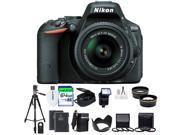Nikon D5500 1548 Black 24.2 MP Digital SLR Camera with 18-140mm VR Lens