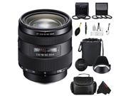 Sony 16-50mm f/2.8 Standard Zoom Lens for Sony A-Mount Cameras + Pixi-Advanced Accessory Bundle