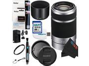 Sony E 55-210mm F4.5-6.3 OSS Lens for ILCE-7, ILCE-7R, ILCE-7S, NEX-3, NEX-5, NEX-C3, NEX-5N, NEX-7, NEXF3, NEX5R, NEX-6, NEX-3N, NEX 5T, A3000, A5000, A6000, A3500, A5100