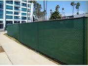 6' X 50' Heavy Duty Green FenceScreen Mesh Tarp