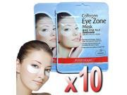 Purederm - 10x Collagen Hydro Eye Zone Mask White Wrinkle Care Nourishing Salon
