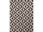 Jaipur PAO03 Indoor-Outdoor Durable Polypropylene Ivory/Black Area Rug ( 5.3x7.6 )