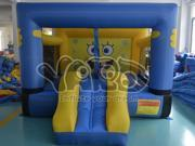 Inflatable Mini Bouncer Bounce House Moonwalk Jumper With Slide