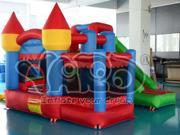 YARD Bounce House Inflatable Jumping Bouncy Castle With Ball Pit
