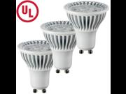 HitLights E Series Dimmable MR16 LED Light Bulb - GU10 Base - 4.5 Watt, 350 Lumens - Cool White (3 Packs)