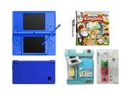 NINTENDO DSI Combo Pack (Blue) + Blue Casing + Game Case w/ Stylus + My Sims Kingdom Game- New