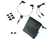 AudioFlood Waterproof Short Cord Headphones