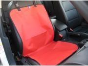 3C Expert PTH-AC-052 Waterproof Front Seat Dog Car Seat Cover (Red)