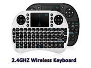 2.4G Rii Mini i8 Wireless Keyboard Touchpad for Tablet PC iPad Mini Andriod Smart TV Box Xbox360 PS3 HTPC/IPTV Qwerty Keyboard AirMouse