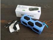 Portable Active Bluetooth Music Player Bluetooth V4.0  Waterproof,Dustproof, Anti-scratch, Shockproof,High Temperature Resistant Speaker +NFC Speaker+Mobile Power Bank