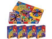 Jelly Belly 3.5 oz Spinner Wheel Game with Four 1.6oz Refill Boxes-3RD Edition