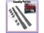 07-15 Jeep Wrangler JK 4DR Unlimited Nerf Bars Running Boards Side Step OE Style