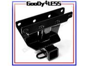 05-10 Jeep Grand Cherokee Commander Class-3 III Trailer Tow Hitch Receiver 2""