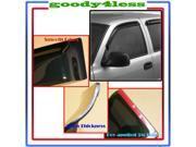 05+ Toyota Tacoma Regular Reg Cab Window Vent Visor Deflector Rain Guard Shield