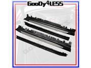 14-15 BMW F15 X5 xDrive Aluminum Running Boards Pair Set Side Step OE Style Nerf
